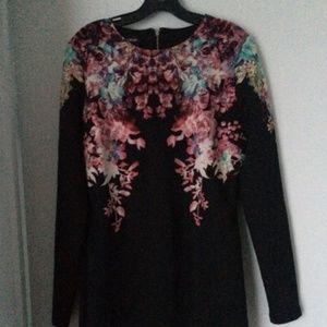Bebe black stretch dress - New -Large